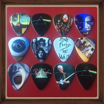 🎸 Lot Of 12 Pink Floyd🎸 Guitar Picks Brand New 🎸 #200