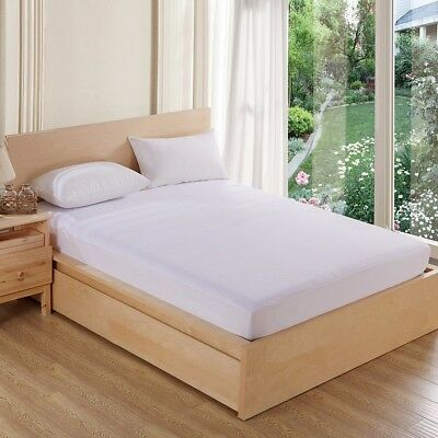 Hypoallergenic Mattress Pad Mattress Protector Quilted Fitted Bed Cover 01
