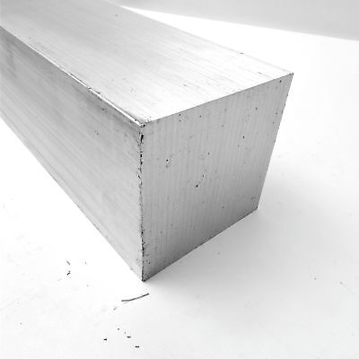 "3.5"" x 3.5"" Aluminum  6061 SQUARE Solid  FLAT BAR 16.75"" Long  sku K233"