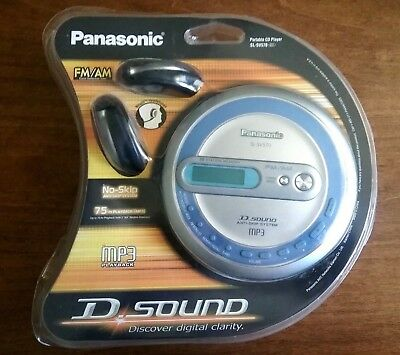 **NEW** Panasonic SL-SV570 Portable Anti Skip CD Player MP3 FM/AM Radio