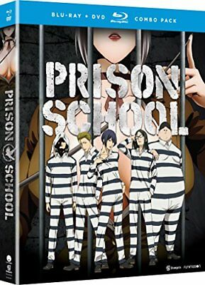 NEW Prison School: The Complete Series (Blu-ray/DVD Combo) (2016)