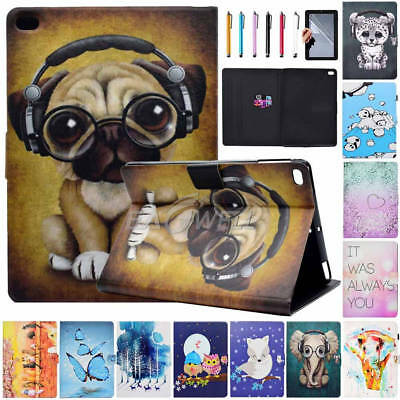 "For iPad Air 2 / iPad A1566 A1567 9.7"" Folding PU Leather Smart Cover Stand Case"