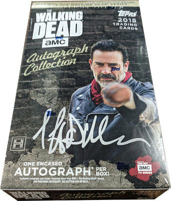 2018 Topps Walking Dead Autograph Collection Hobby Box FACTORY SEALED!!