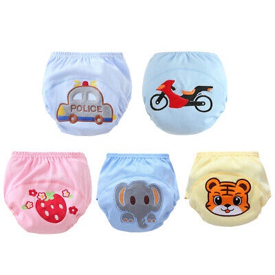 Reusable Baby Training Pants Cloth Diaper Nappies Baby Waterproof Potty Panties