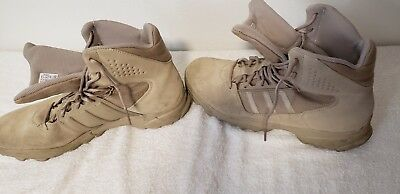 1a1e275a6df Adidas Gsg9.3 Desert Low Tactical Boots Clear Sand Men Size 13.5