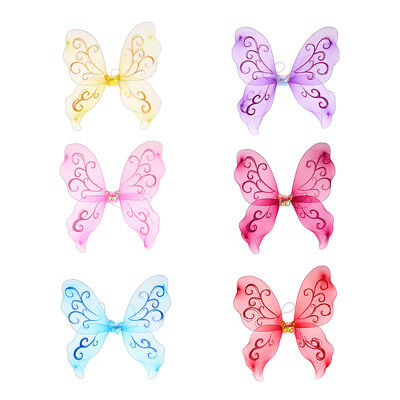 Fairy Princess butterfly Wing For Girls Dress up kids party favors
