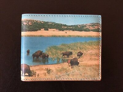 Beautiful New Jack Spade Leather Vintage Buffalo Postcard Wallet RRL. RARE.