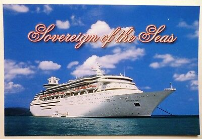 mv Sovereign of the Seas . Royal Caribbean Cruise Line Ship RCCL Water View Boat