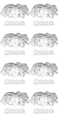 """800 14K Gold White Earring Puff Cards Case Display 1.5"""""""