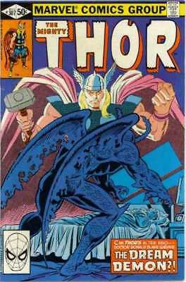 Thor (1966 series) #307 in Fine + condition. Marvel comics [*7g]
