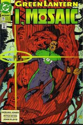 Green Lantern: Mosaic #11 in Near Mint minus condition. DC comics [*hu]