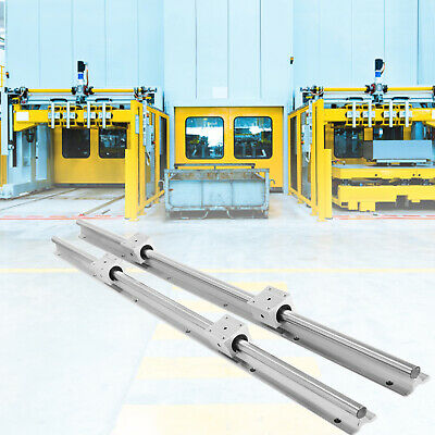 4pc CSC Box type slider 2X WCS 12 1200mm  LINEAR RAIL /& Vertical support