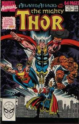Thor (1966 series) Annual #14 in Fine + condition. Marvel comics [*7h]