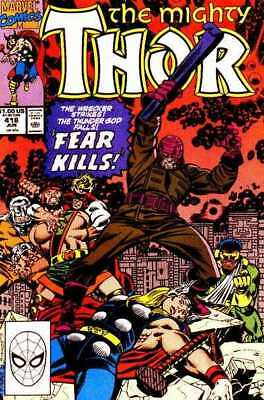 Thor (1966 series) #418 in Fine + condition. Marvel comics [*ar]