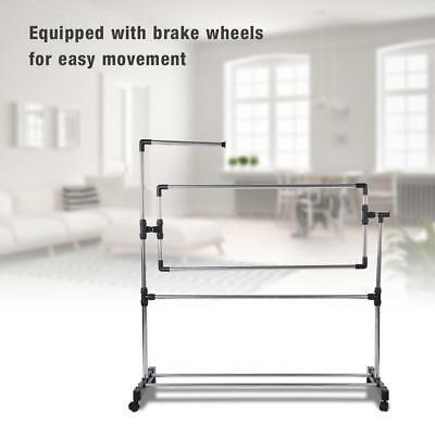 Floor Stand Large Embroidery Frame Cross Stitch Frame Tool with Embroidery Tools