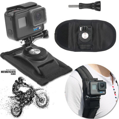 Riding Backpack Mount Bracket Holder For GoPro Hero 7 Black Accessory Camera