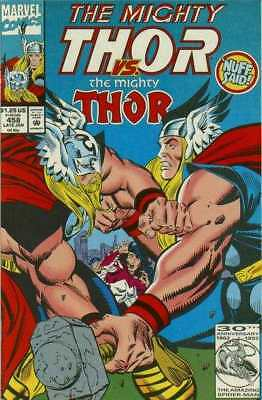 Thor (1966 series) #458 in Very Fine + condition. Marvel comics [*1b]