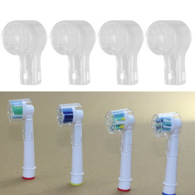 2/4/8Pcs Electric Toothbrush Head Protection Cover Caps For Oral-B Eb18 Cheerful