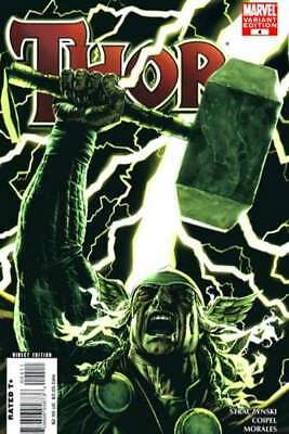 Thor (2007 series) #4 Variant in Near Mint minus condition. Marvel comics [*mt]