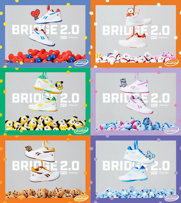18f110f34f5 BTS BT21 Reebok ROYAL BRIDGE 2.0 Shoes Sneakers Authentic Official Goods