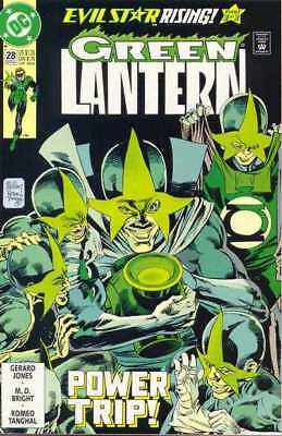 Green Lantern (1990 series) #28 in Near Mint minus condition. DC comics [*ic]