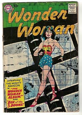 DC COMICS WONDER WOMAN Silver age 103 RARE 1959 VG- 3.0 justice league