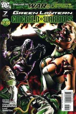 Green Lantern: Emerald Warriors #7 in Near Mint + condition. DC comics [*ok]