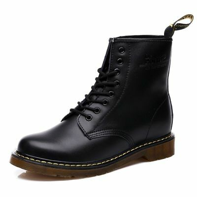 Dr. Martens Airwair 1460 schwarz Smooth Real Leather Boots Unisex Gr 36-45