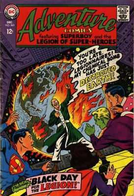 Adventure Comics (1938 series) #363 in Fine minus condition. DC comics [*w5]