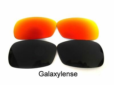 2632d09a54 Galaxy Replacement Lenses For Oakley Crosshair 2.0 Sunglasses Black Red  Polarize