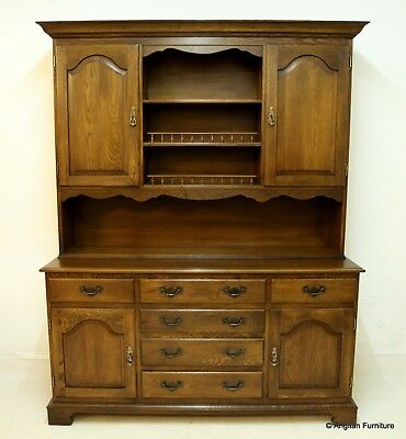 Oak Welsh Dresser 17th Century Style Bevan Funnell FREE Nationwide Delivery