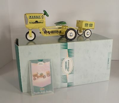 Hallmark Kiddie Car Classics 1961 Murray Super Deluxe TRACTOR WITH TRAILER