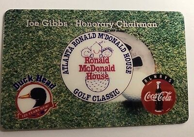 """McDonald's Golf Classic"" Phone Card"
