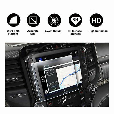 2019 Dodge Ram 1500 Uconnect 8.4In Navigation Screen Protector TEMPERED GLASS