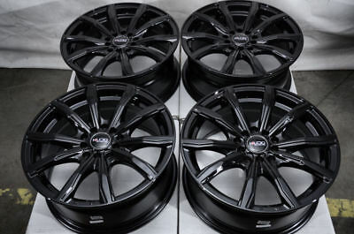 16 Black Wheels Fits Accord Volkswagen Beetle Gti Jetta Toyota Prius Matrix Rims