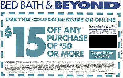 bed bath and beyond 50 off online coupon