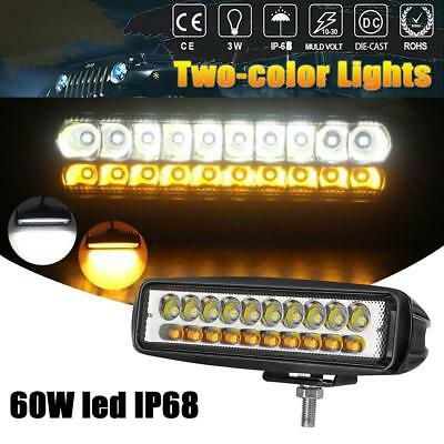 60W 12V Work Light 20LED Spotlight Driving Fog Lamp Bar Spot Light Car SUV H-Q