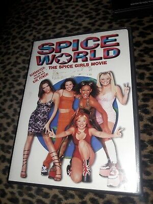 Spice World (DVD, 1998, Closed Caption) GIRLS MOVIE. EMMA VICTORIA MEL B C GERI.