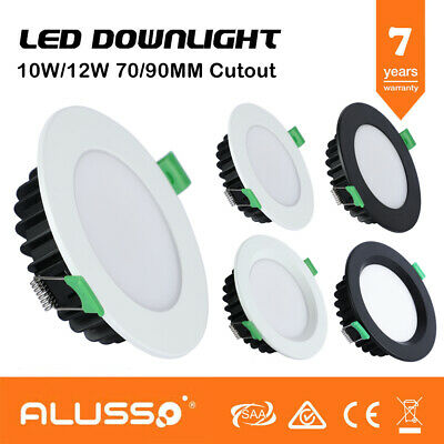 10W/12W Ip44 Dimmable& Color Selectable Led Downlight Kit Flat/Recessed Face