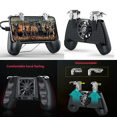 Mobile Game Controller Joystick Joypad Gamepad W/Cooling Fan For Android iPhone