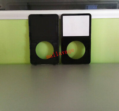 For iPod 5th Gen Video 30/60/80GB Black Front Faceplate Housing Case Cover+Tools