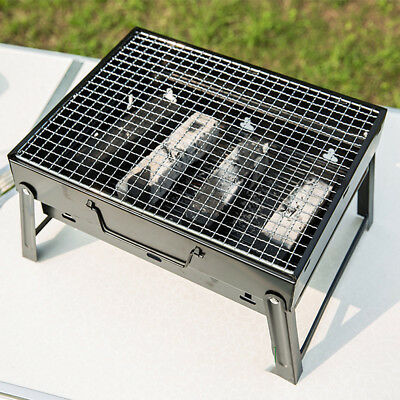 1PCS Portable BBQ Grill Charcoal Outdoor Picnic Camping Cooking Barbecue Grill