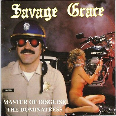 Savage Grace – Master Of Disguise + The Dominatress RARE NEW CD! FREE SHIPPING!