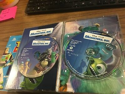 Monsters, Inc. (DVD, 2002, 2-Disc Set ) DISKS ONLY TESTED A+ FAST SHIPPING