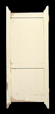Wooden Two Panel Bathroom Stall Door