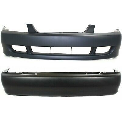 NEW FRONT BUMPER COVER PRIMED FITS 1998-1999 MAZDA 626 MA1000159