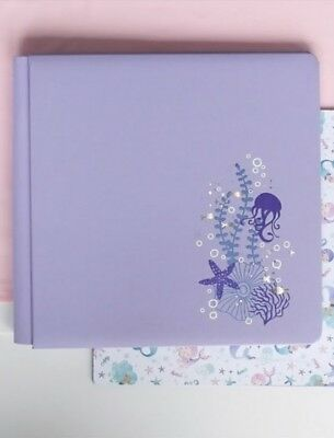 Creative Memories 12 x 12 Mermaid Cove Purple True Size Album Coverset