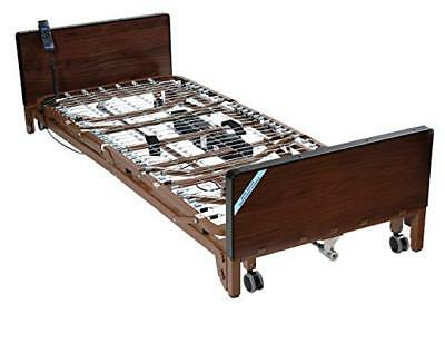 Drive Medical Full Electric Hospital Bed With Full Rails And Mattress