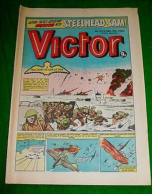 Raf Spitfires 610 485 & 411 Squadrons Dieppe Ww2 Cover Story  Victor Comic 1980