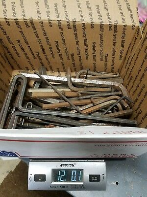 Lot Of Allen Wrenches Many Sizes Machine Shop Tooling Machinist